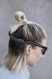 Neue Frisurentrends F R Frauen Und M Nner Half Bun Frisur
