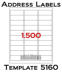 Avery Return Address Labels 80 Per Sheet Template Major