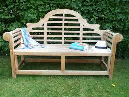 garden benches. lutyens 3 seater teak garden bench benches g