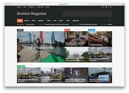 Website Templates Wordpress Mesmerizing Top 48 News Magazine WordPress Themes 48 Colorlib