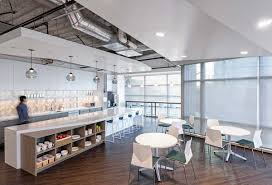 office define. The Work Cafe Is Primary Focal Point Of Office. Located Adjacent To Elevator Entrance, Serves As A Coffee And Snack Resource Kitchen Office Define K