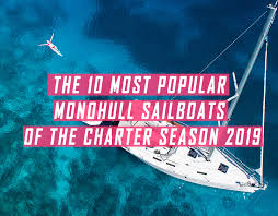 Sailboat Comparison Chart The 10 Most Popular Monohull Sailing Yachts Of The Charter