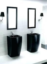 bathroom pedestal sinks inspiring modern pedestal sinks for small bathrooms beautiful small pedestal sink modern pedestal