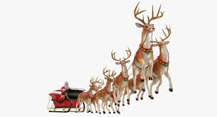 santa claus and reindeer. Brilliant Santa Santa Claus Reindeer Flying 3D On Santa Claus And Reindeer S