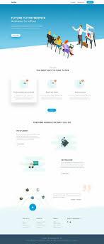 Flat Ecommerce Design Inspiration Landing Page Template Design Inspiration Portfolio Web