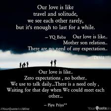 Our Love Is Like Mother Quotes Writings By Pramit Basu