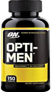 optimum nutrition opti men 150 tablets