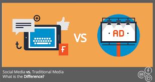 Social Vs Vantage Traditional Media