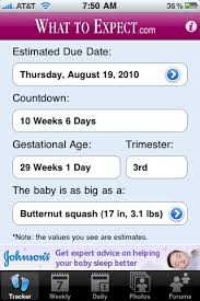 Pregnancy Tracker From Whattoexpect Com For Iphone App