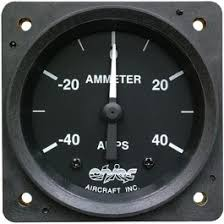2 1 4 inch ammeter, from instrument sales and service, iss caa 01 Shunt Amp Meter Wiring Diagram Aircraft Ammeter Shunt Wiring Diagram #37