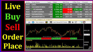 Sharekhan Live Chart How To Place Buy And Sell Order In Trading Software In Details In Hindi Live Sharekhan Tutorials