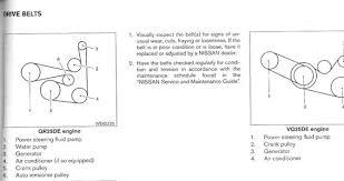 1998 nissan altima belt diagram vehiclepad solved serpentine belt routing diagram 2006 nissan altima fixya