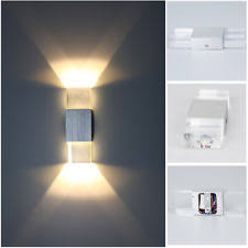 modern 2w led wall light up down lamp sconce spot lighting home bedroom fixture bedroom sconce lighting