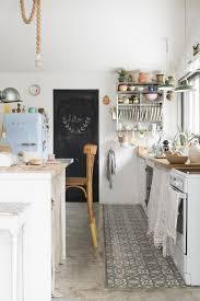 Zementfliesen in der Küche Küchen und Essplätze