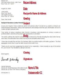 Format A Professional Business Letter With These Tips How To