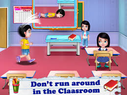 School Safety Rules Chart Kids Safety At School 1 0 Apk Download Android Casual Games