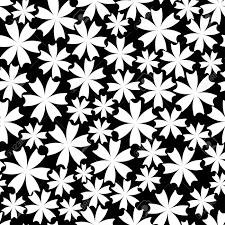 花飾りからのシームレスなパターンおしゃれなモダン グラフィックスウェブサイトブログ壁紙ラッ