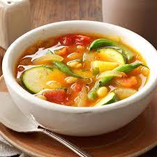 Easy Light Summer Soups Summer Vegetable Soup