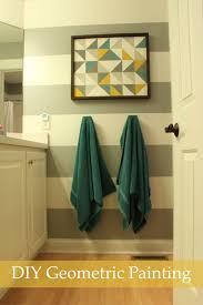 interior: Creative DIY Wall Painting Expressing Artistic Interior ...