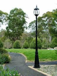 lighting driveway lamp post ideas lights gas lamps solar powered