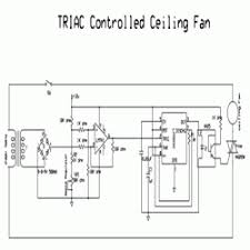 simple triac controlled ceiling fan engineersgarage circuit diagram triac controlled ceiling fan