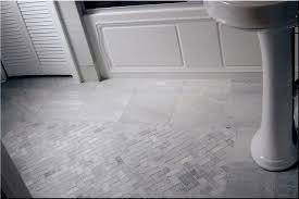 Gray Tile Bathroom Flooring Concept