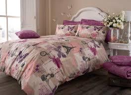 latest vintage style duvet cover pillow case quilt cover bedding set