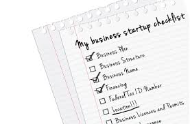 New Business Startup Checklist Starting A Business Checklist Signature Filing Blog