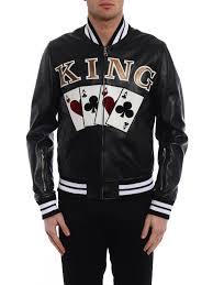 ikrix dolce gabbana leather jacket king lambskin leather er jacket