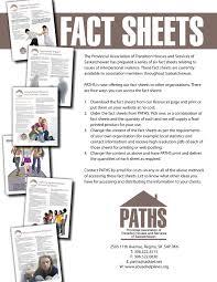Order Fact Sheets