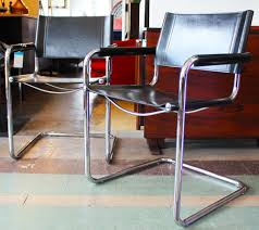 italian leather side chairs