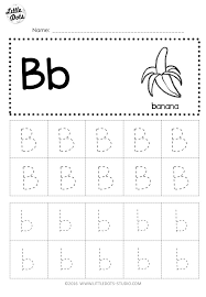 Find that letter worksheet 1 grade/level: Free Letter B Tracing Worksheets