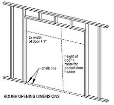 pocket door sizes pocket door width save pocket door width sizes pocket door width standard sliding