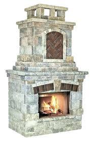 made outdoor fireplace s fab kits precast nz assembled