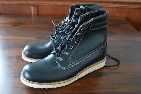 298 jcrew wallace and barnes plain toe byrd boots black size 9 5 e3785