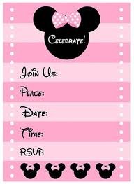 online free birthday invitations free minnie mouse birthday party invitation template invitations