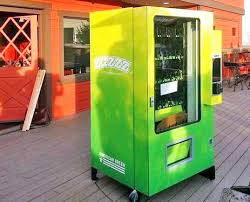 Outdoor Vending Machine Custom Forget Junk Food Colorado's First Pot Vending Machine Serves Up