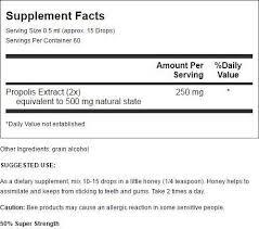 Amazon.com: Propolis Tincture - 50% Super Strength YS Eco Bee Farms ...