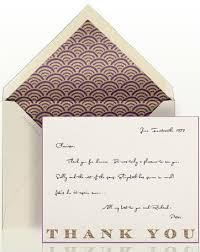 Paperless Post Gets Thank You Notes Emily Post Rejoices