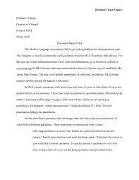 10 Essay In Mla Format 1mundoreal