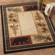 bear bathroom rugs