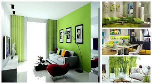 Image of: 15 Lime Green Living Room Designs