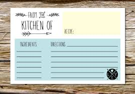 Where To Buy Recipe Cards In Stores Free Printable Recipe Cards Weekend Craft