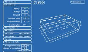 Warehouse Lighting Design Calculator Lighting Calculator Simkar Lighting