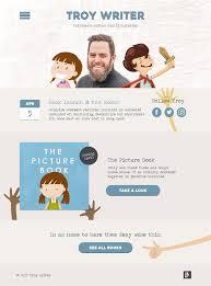 Children S Author Website Design Troy