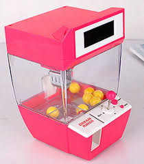 Mini Candy Vending Machine Amazing Catcher Alarm Clock Electric Vending Machine Candy Doll Grabber Game