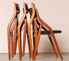 leather folding dining chairs
