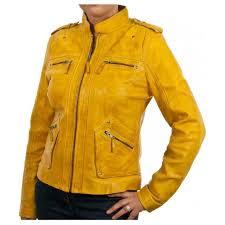 ralph lauren womens yellow motorcycle leather jacket zoom ralph