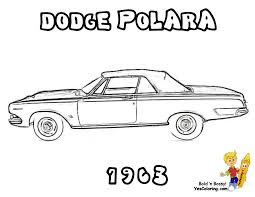 Dodge Coloring Pages #2777