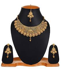 amazon youbella jewellery bollywood ethnic gold plated traditional indian necklace set with earrings for women sports outdoors